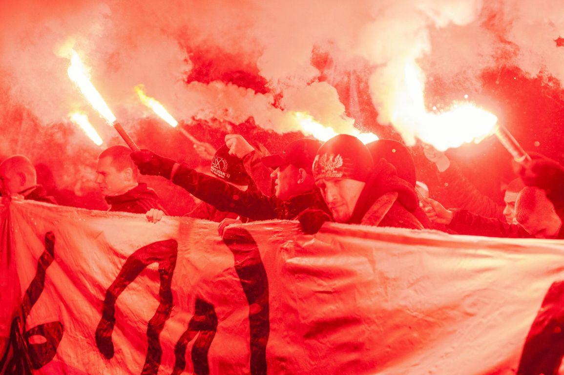 g11.11.2017 Wroclaw . Marsz Patriotow w Swieto Niepodleglosci . fot . Tomasz Pietrzyk / Agencja Gazeta