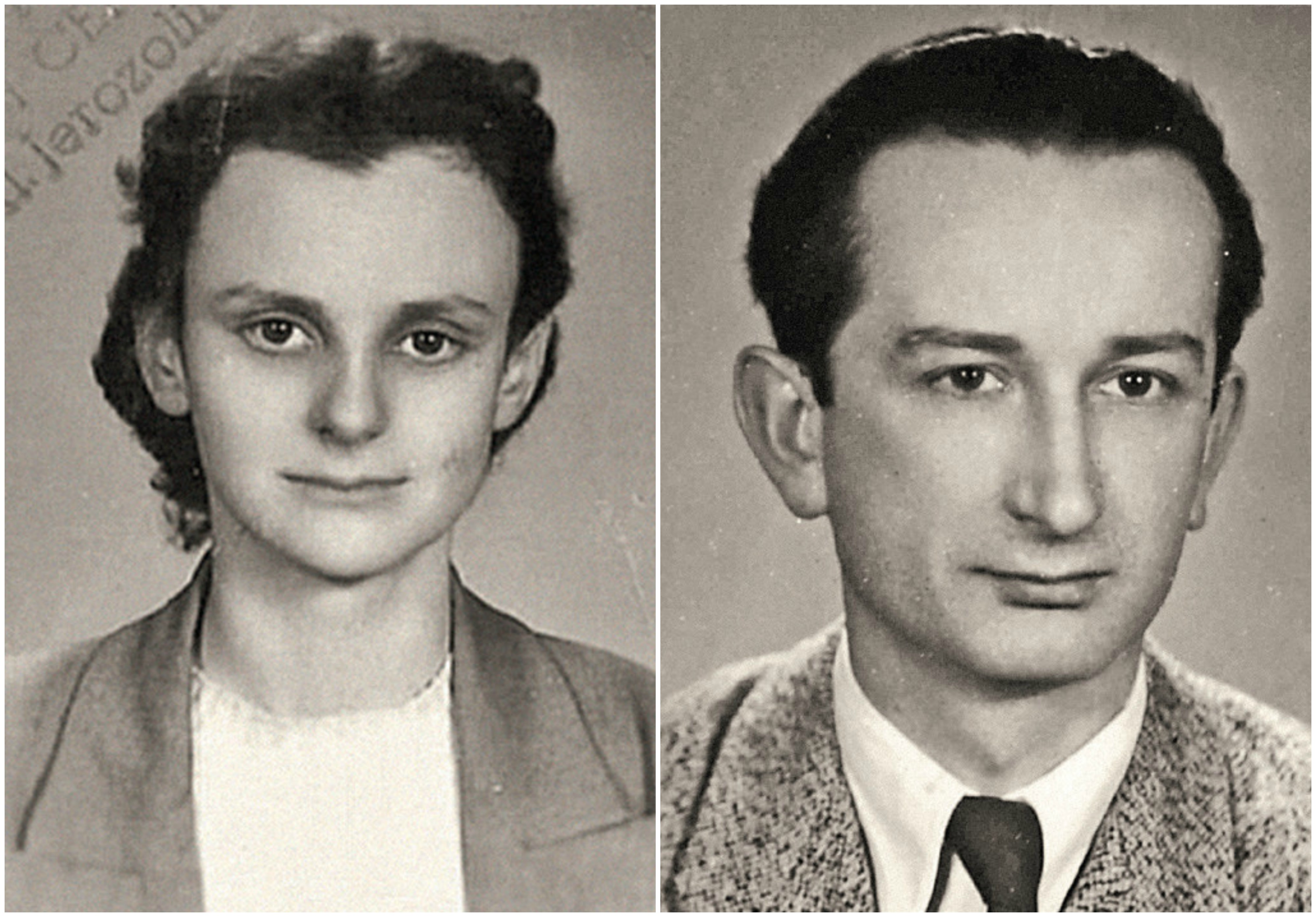 Po lewej 'Paulinka' po wyjściu z więzienia. Po prawej jej drugi mąż - Romuald Jakubowski (fot. materiały prasowe)