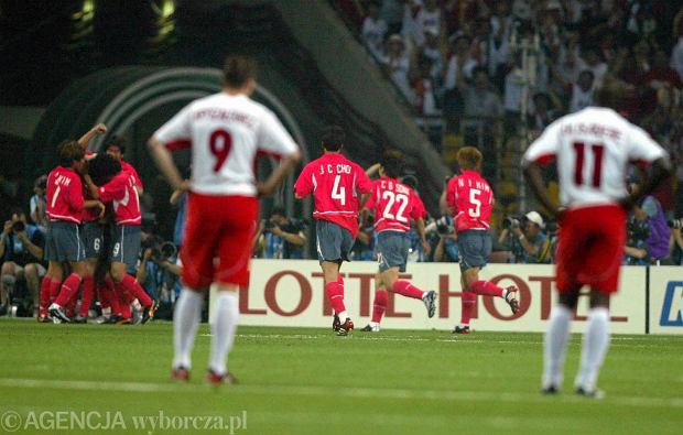 04.06.2002. KOREA MECZ POLSKA - KOREA FOT. KUBA ATYS / AGENCJA GAZETA SLOWA KLUCZOWE: /FR/