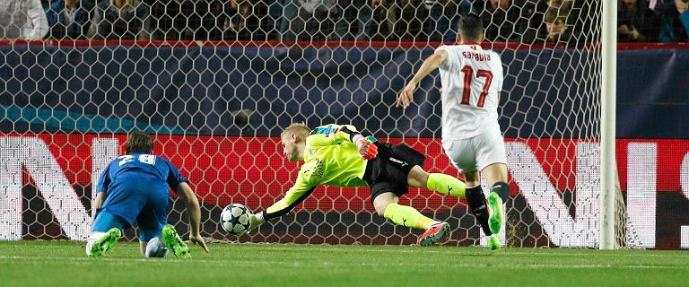 Mistrz Anglii wyglądał w Sevilli tragicznie, ale... strzelił gola! Po takim wyniku ma duże szanse w rewanżu