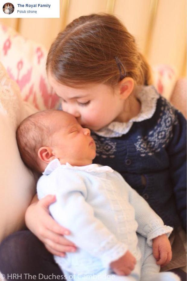 Książę Louis i księżna Charlotte w obiektywie księżnej Kate