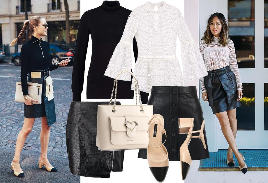 Buty w stylu Chanel - stylizacja