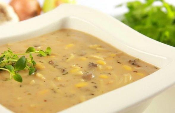 Zupa z maslakow