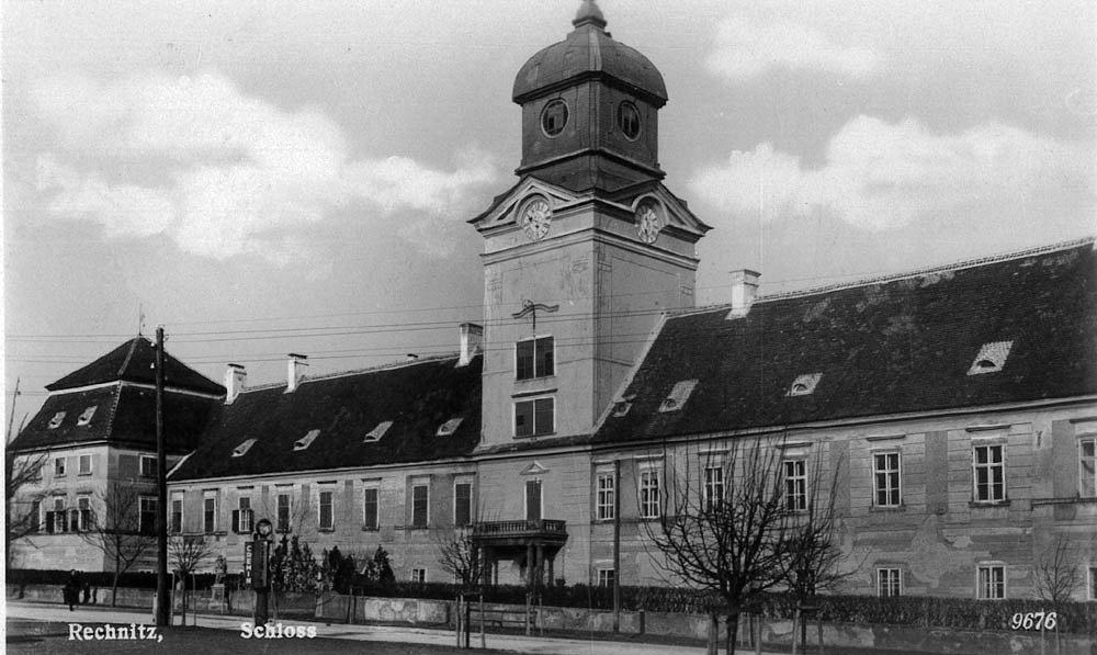 Na zdjęciu zamek w Rechnitz, gdzie rozegrała się tragedia (fot. commons.wikimedia.org)