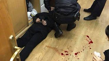 Brutalny atak na dziennikarkę. 40-letni nożownik zaatakował ją na korytarzu redakcji Echa
