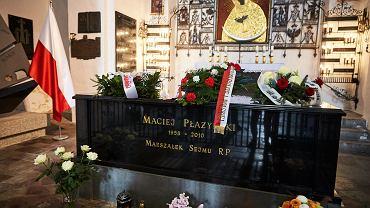 Nieoficjalnie: trwa ekshumacja zwłok Płażyńskiego. Policja otoczyła Bazylikę Mariacką w Gdańsku