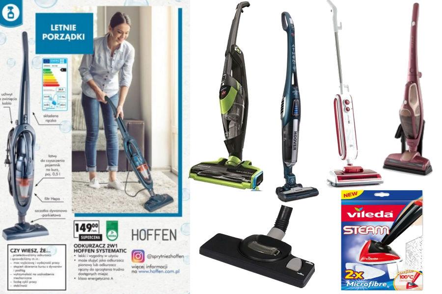 Porządki w domu i garażu - mopy, odkurzacze i akcesoria do sprzątania