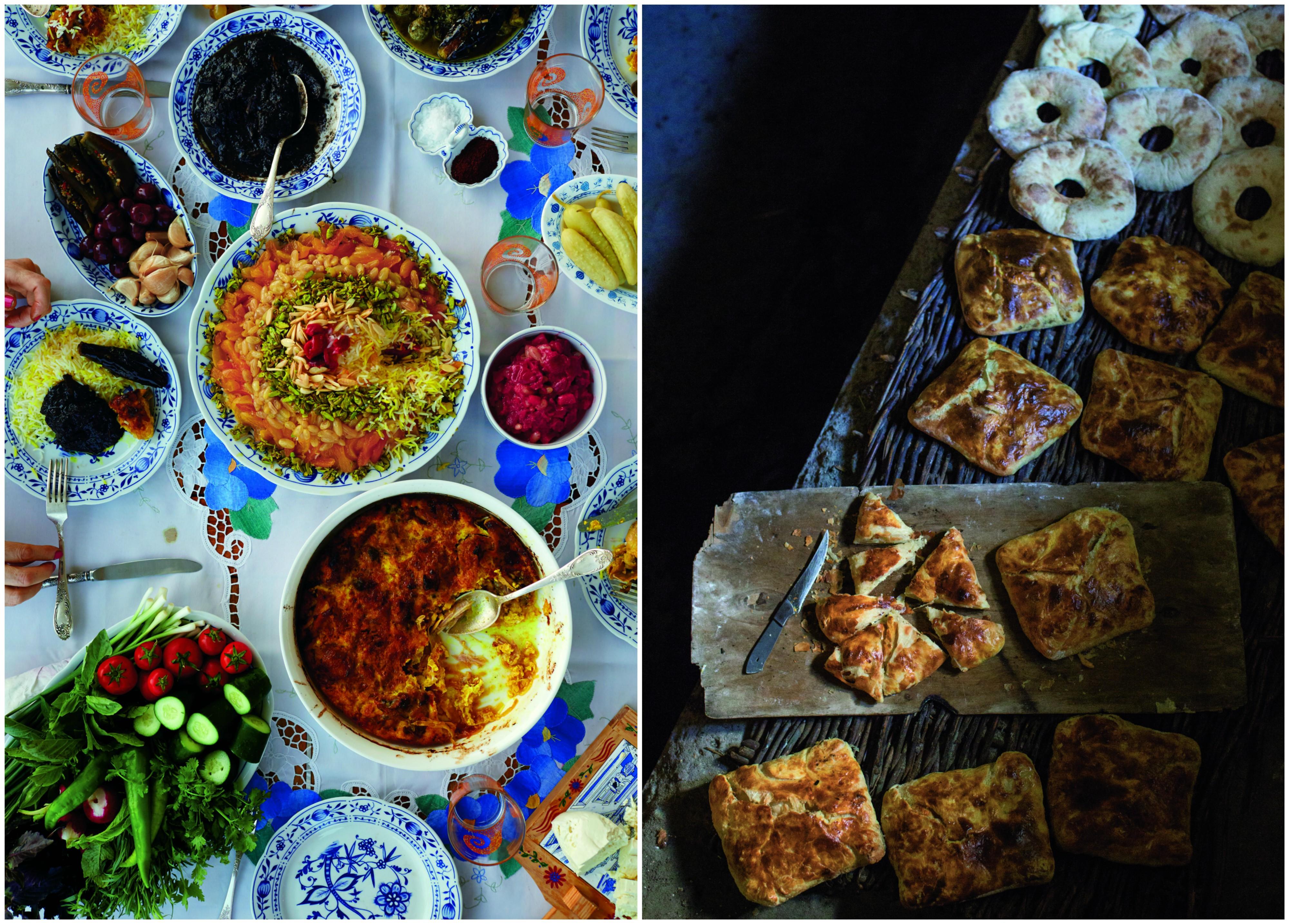 Czigyrtma z kurczaka (po lewej) to jedna z tradycyjnych potraw kuchni gruzińskiej (fot. materiały prasowe)
