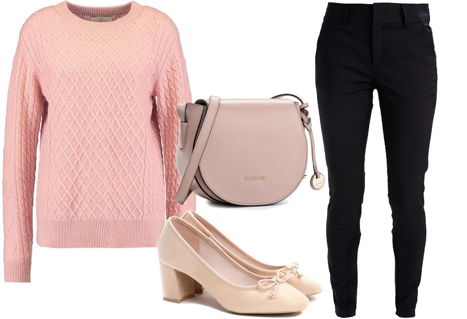 Sweter -stylizacja