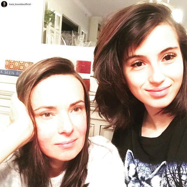 Kasia Kowalska i jej córka, Ola Kowalska