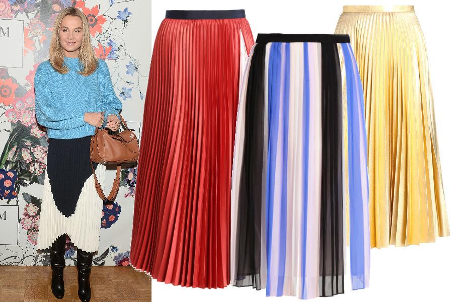 abecd3a81e312 Plisowane spódnice - z czym wyglądają najlepiej?