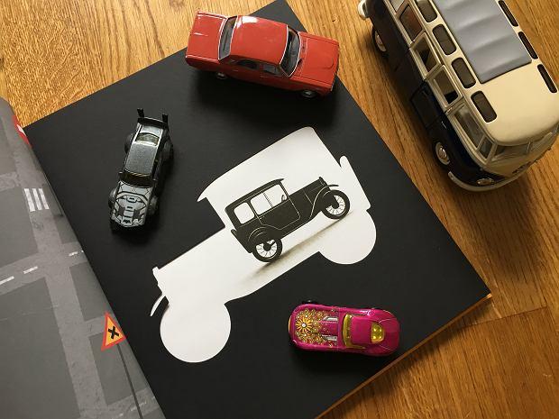 Auto w aucie w książce 'Ale auta! Odjazdowe historie samochodowe'