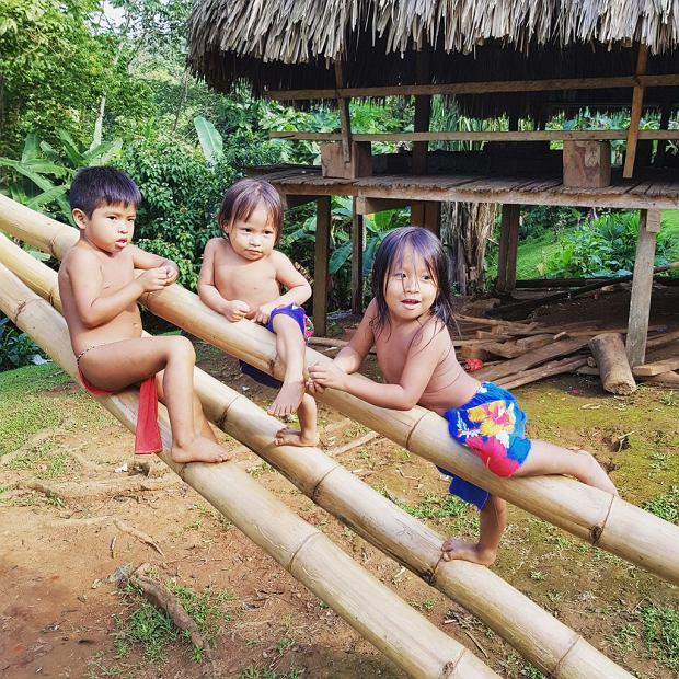 Dzieci Embera Drua
