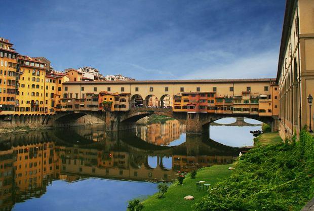 florencja, toskania, most, arno