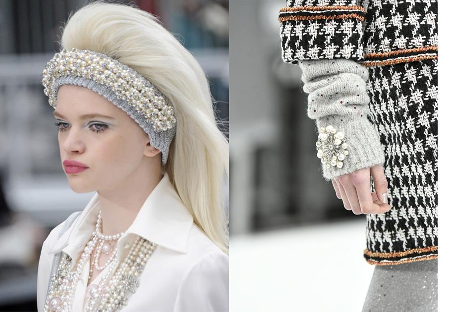 Perły - Chanel