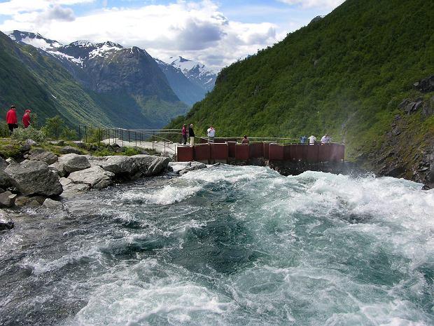 Wodospad Videfossen