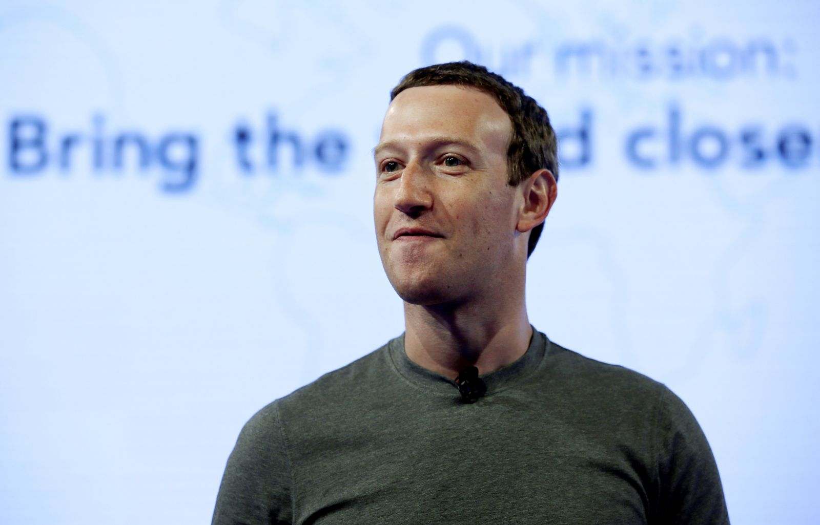 FFILE - In this June 21, 2017, file photo, Facebook CEO Mark Zuckerberg speaks during preparation for the Facebook Communities Summit, in Chicago. Zuckerberg embarked on a rare media mini-blitz Wednesday, March 22, 2018, in the wake of a privacy scandal involving a Trump-connected data-mining firm. (AP Photo/Nam Y. Huh, File)