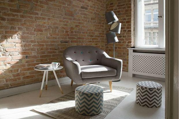 Wygodny fotel w salonie to mebel obowiązkowy
