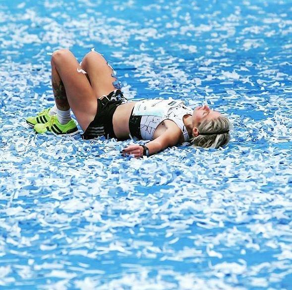 Dominika Stelmach ogólnoświatowego biegu Wings for Life!