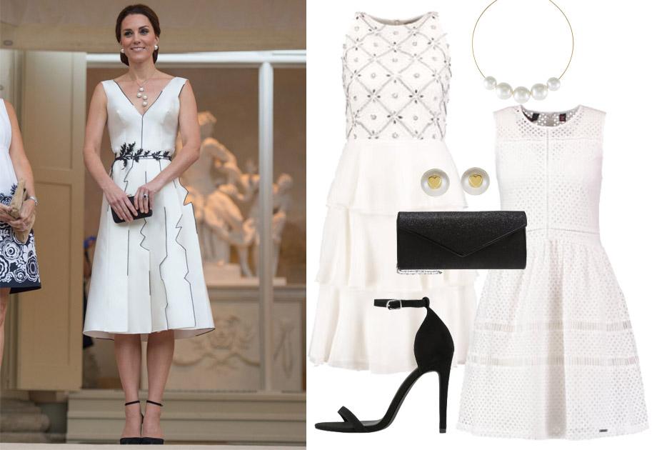 Księżna Kate w sukience projektu Gosi Baczyńskiej