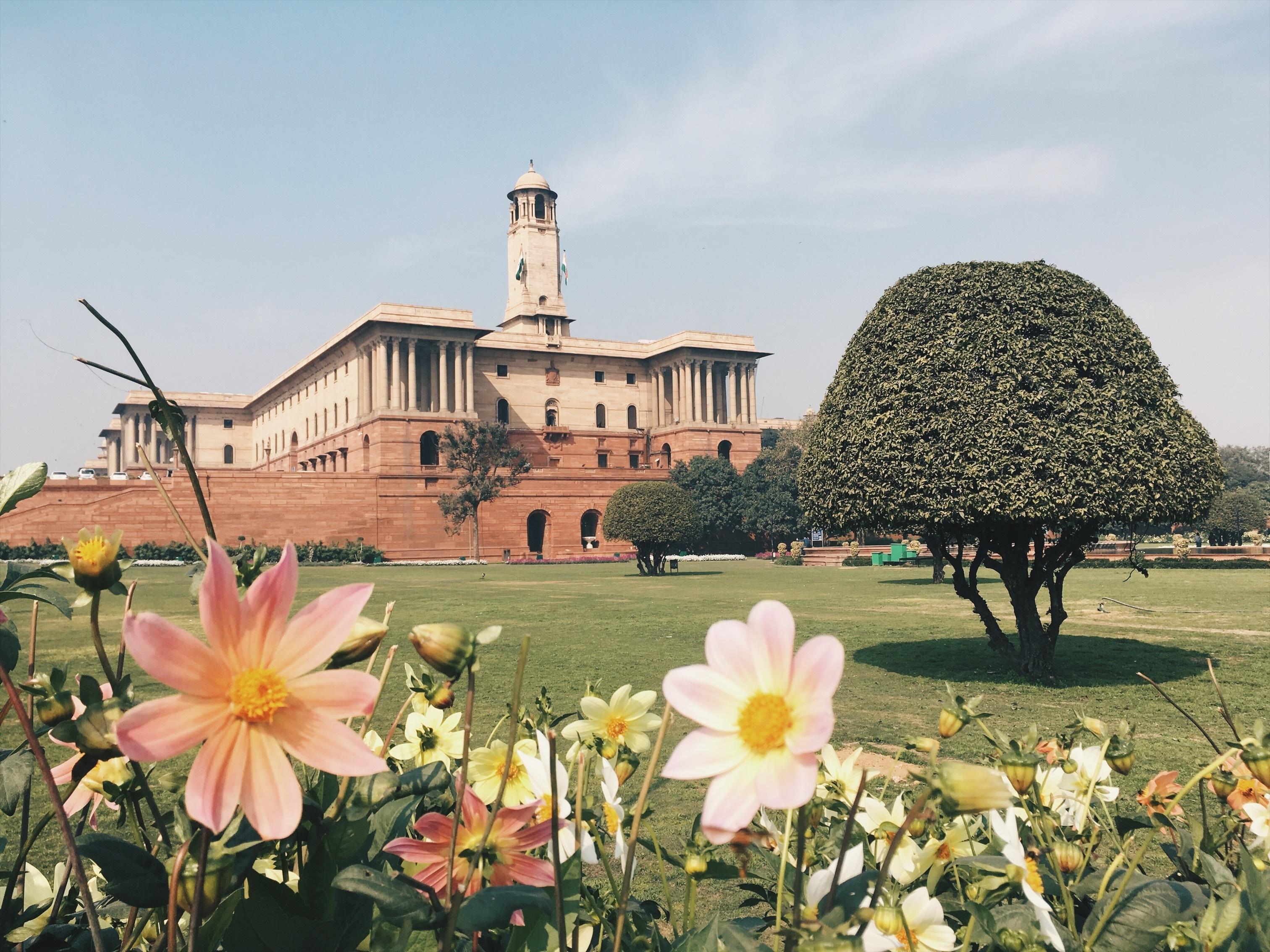 Rashtrapati Bhavan, pałacu prezydenta niepodległej od 1947 roku republiki (fot. shutterstock.com)