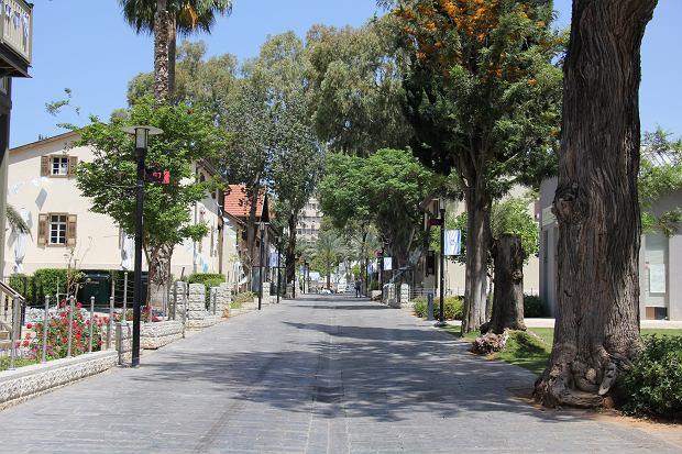 Aleja spacerowa w Saronie w Tel Awiwie