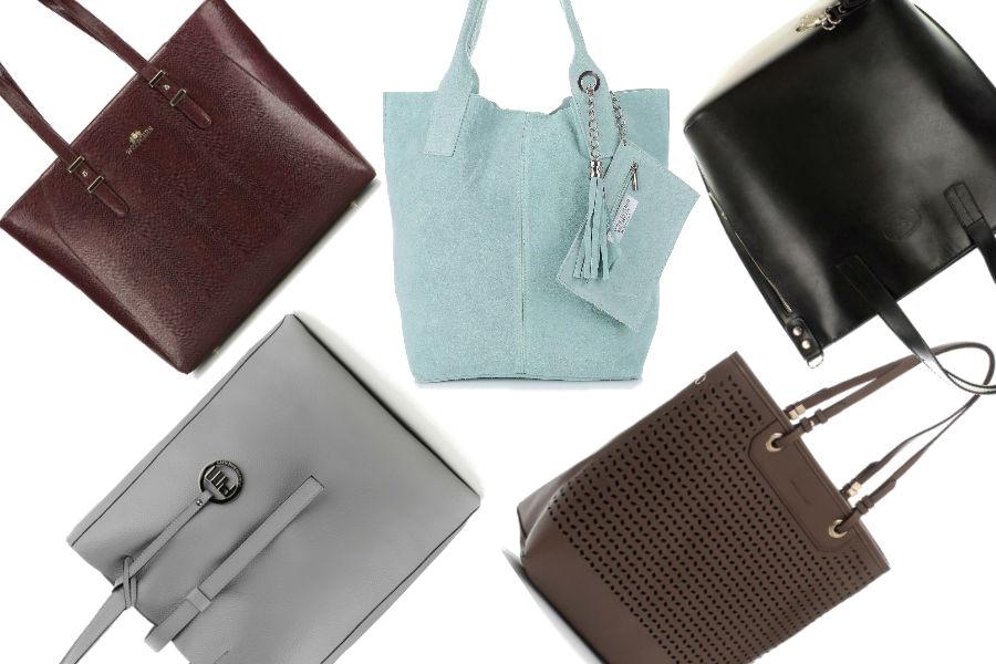 Shopper bag z nowych kolekcji