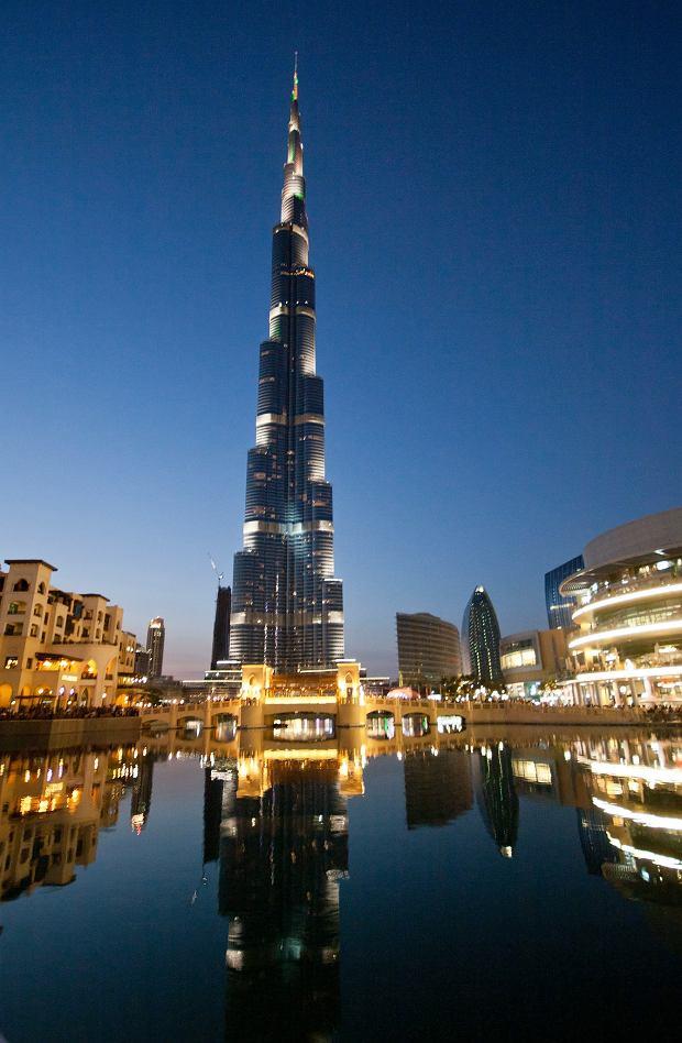Burdż Chalifa - najwyższy budynek świata