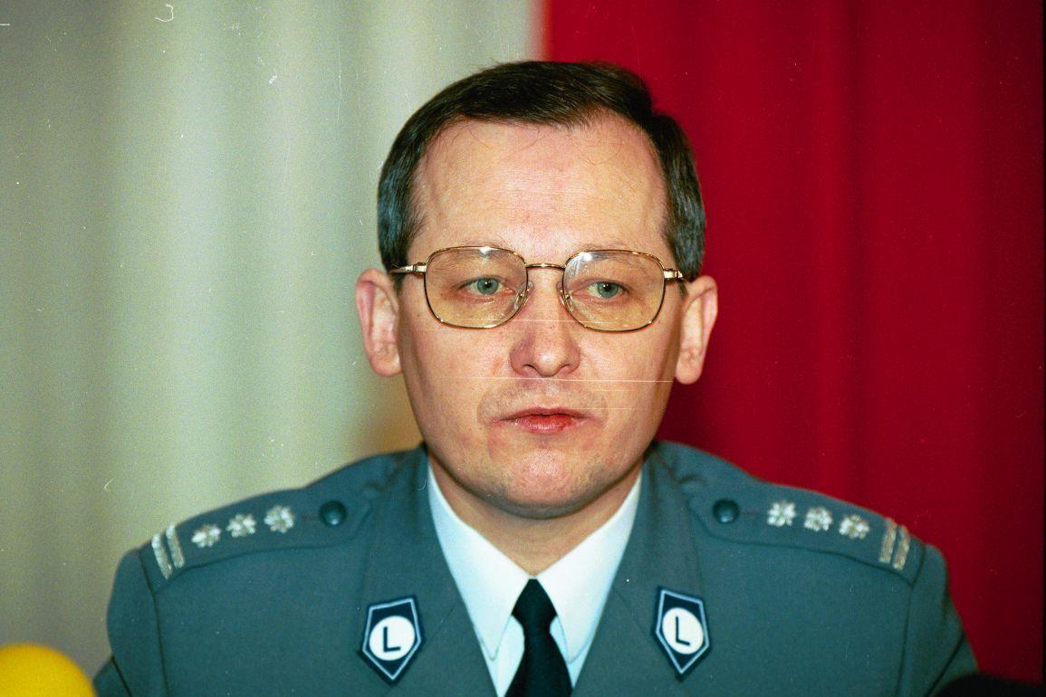 Komendant Główny Policji Marek Papała (fot. Sławomir Kamiński / Agencja Gazeta)