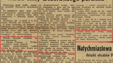 """""""Sukcesy polskiej armji"""". Propaganda i fake newsy o pierwszych dniach wojny"""