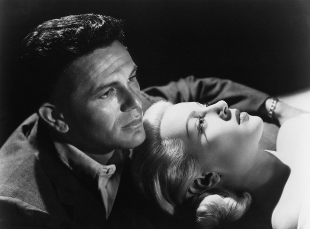 John Garfield i Lana Turner w filmie 'The Postman Always Rings Twice' z 1946 r. (fot. Film Star Vintage / Flickr.com / CC BY 2.0)
