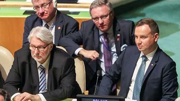 Duda na zgromadzeniu ONZ zachwalał Polskę. Padło ostrzeżenie o manipulowaniu