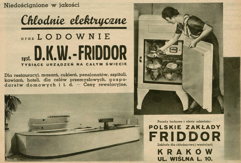 Z czasem coraz bardziej zaczęły się upowszechniać chłodnie elektryczne. Sprawdzały się one zarówno w branży gastronomicznej, jak i w zwyczajnych gospodarstwach domowych. Problemem była tylko ich wygórowana cena, przez którą były poza zasięgiem większości Polaków (fot. materiały prasowe)