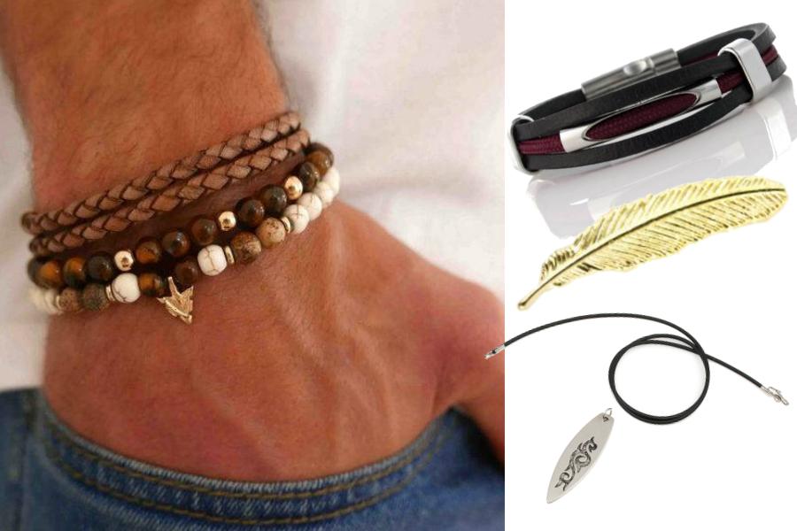 Męska biżuteria / fot. etsy.com / materiały partnerów