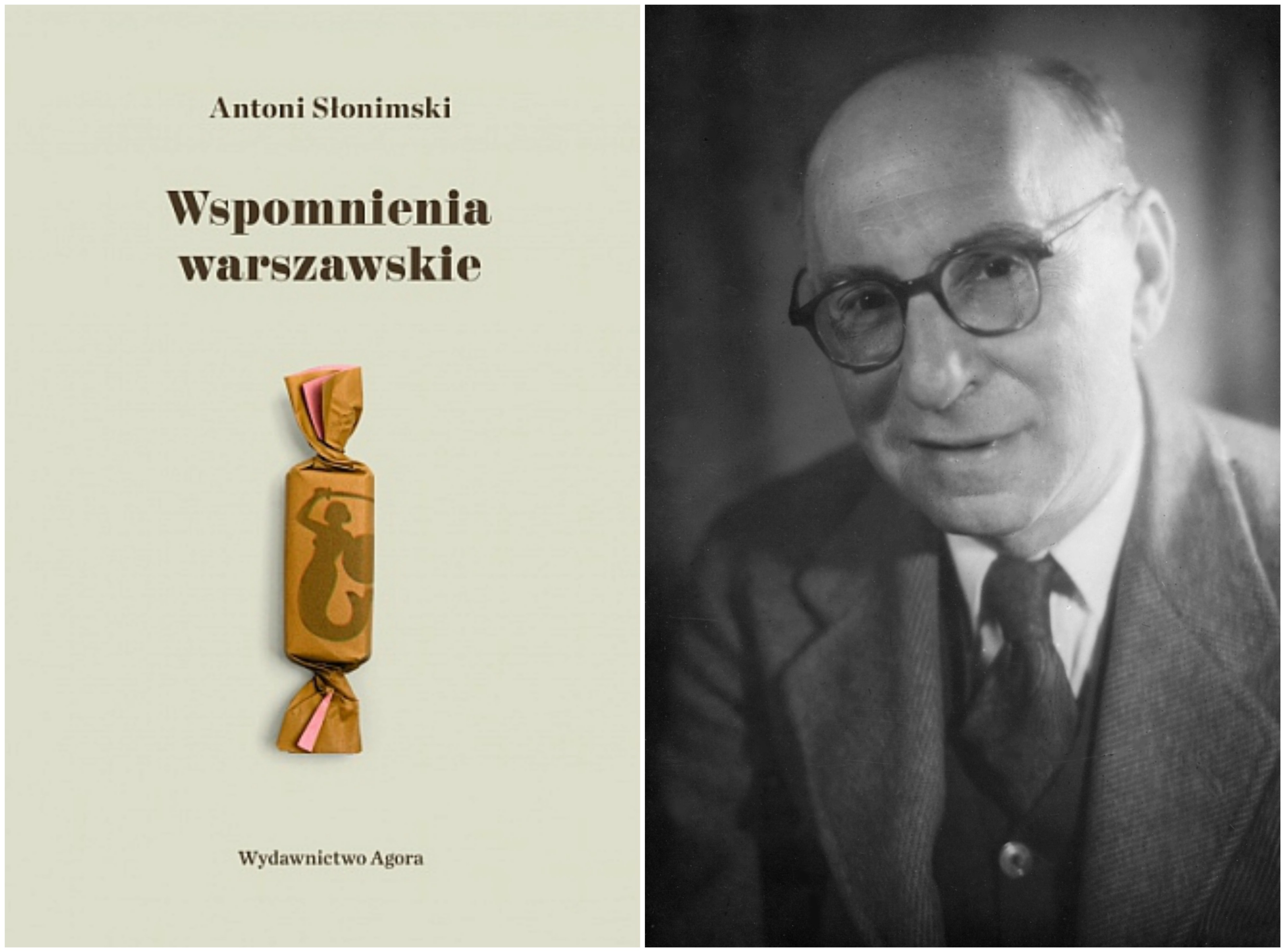 Nowe wydanie 'Wspomnień warszawskich' Antoniego Słonimskiego ukazało się nakładem Wydawnictwa Agora (fot. materiały prasowe / Narodowe Archiwum Cyfrowe)