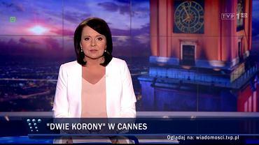 """""""Wiadomości"""" odtrąbiły sukces TVP w Cannes. Tyle tylko, że go wcale nie było"""