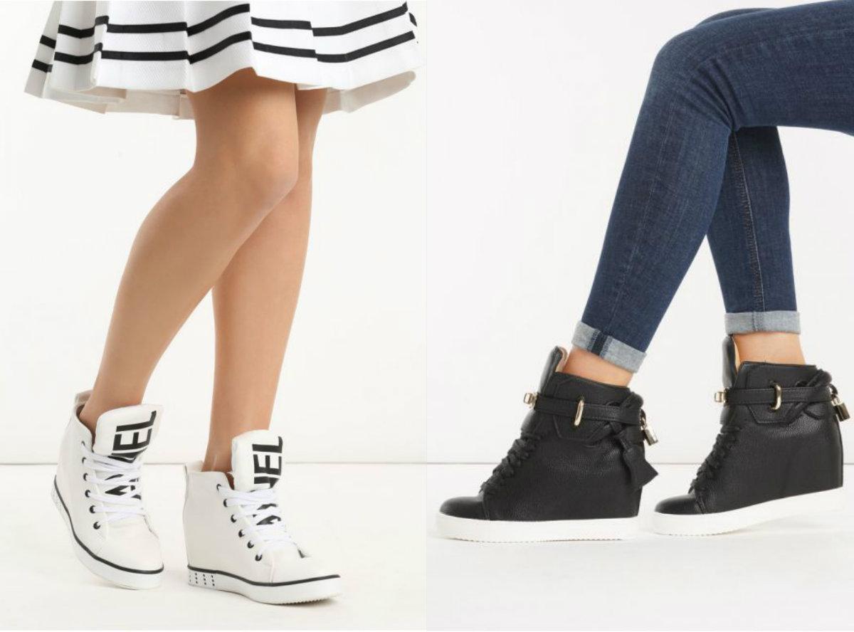 3286545e Sneakersy na koturnie - kontrowersyjne buty nadal modne?