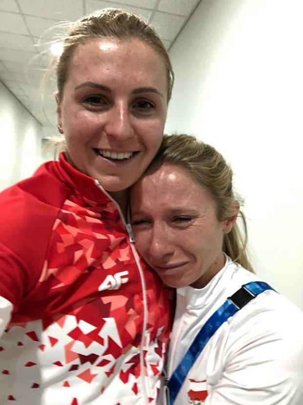 Natalia Czerwonka i Luiza Złotkowska