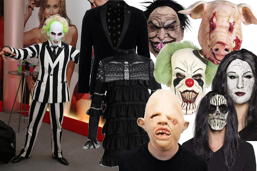 Kolaż Halloween/Materiały partnera/fot. WBF