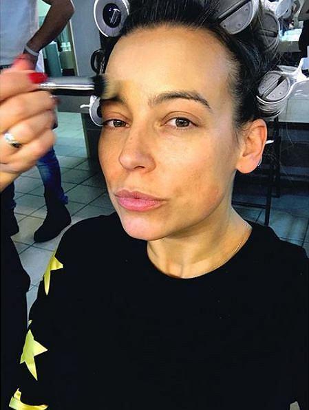 Anna Mucha bez makijażu