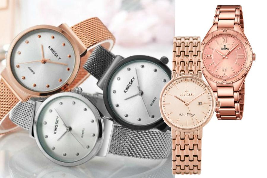 c5788c8a71f6e8 Najpiękniejsze zegarki na wiosnę: na bransolecie i skórzanym pasku