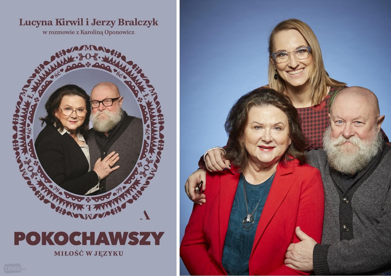 Na zdjęciu - Lucyna Kirwil, Jerzy Bralczyk i Karolina Oponowicz (mat. prasowe)
