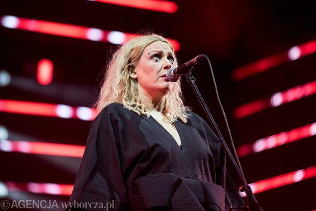 15.07.2017 Wroclaw , Pergola . Katarzyna Nosowska podczas festiwalu Meskie Granie .   Fot . Kornelia Glowacka-Wolf / Agencja Gazeta