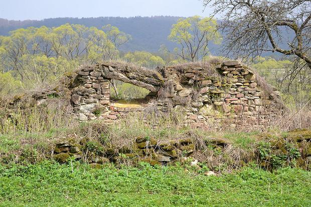 Pozostałości po wsi Tworylne