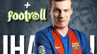 """Footroll razem ze Sport.pl na Youtubie. """"Hejterom zostawiam lajka"""""""