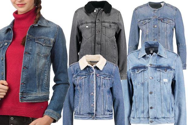 fot. materiały partnera/ jeansowe kurtki na jesień
