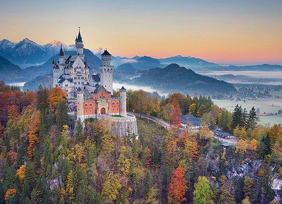 Zamek, który zainspirował Walta Disneya. Fot. iStock