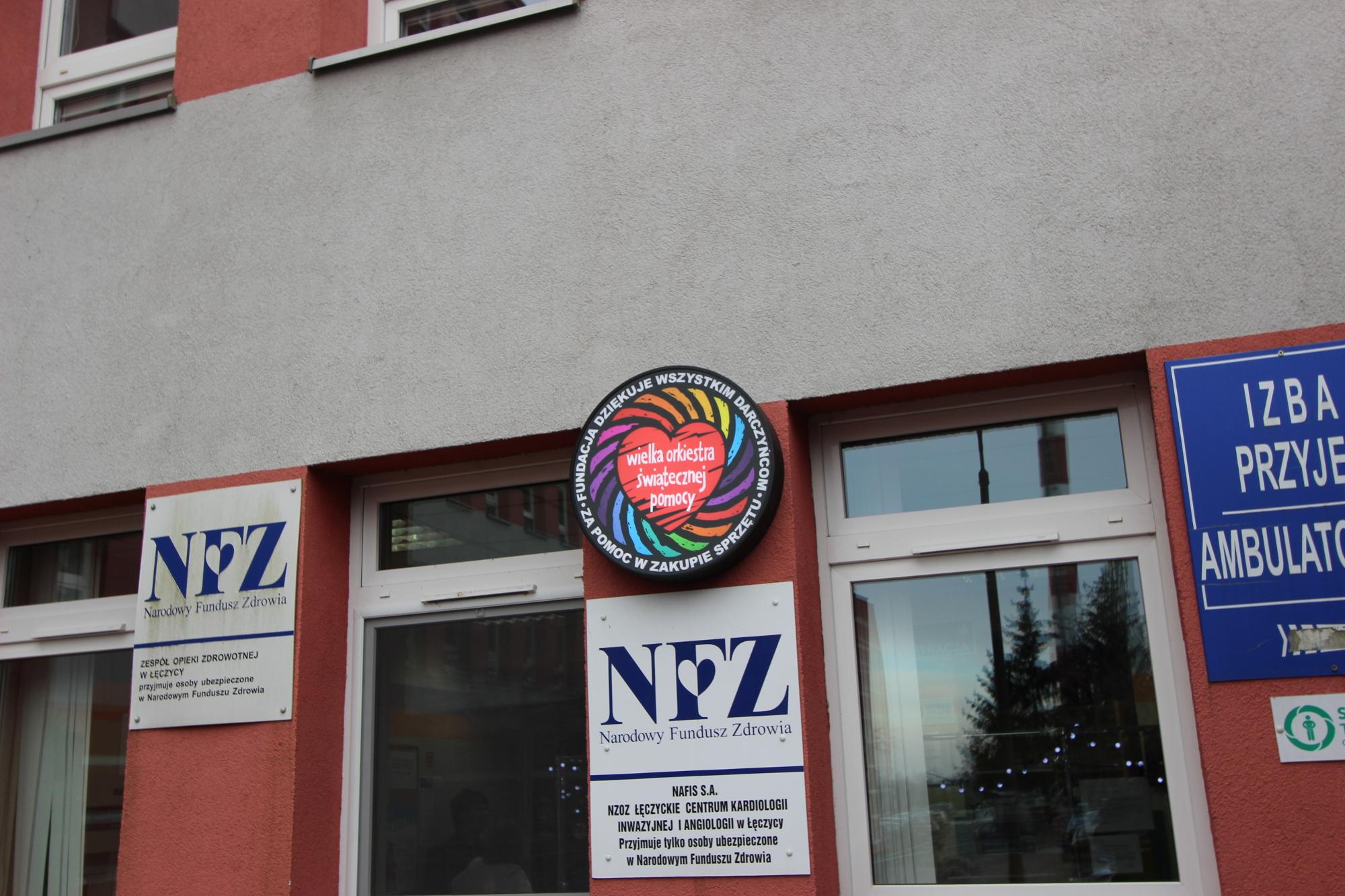 Szpital w Łęczycy (fot. Bartosz Józefiak)