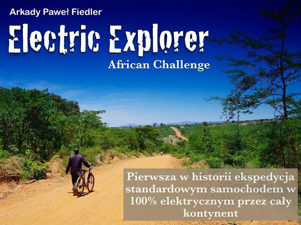 Arkady Fiedler, Nissan Leaf - wyprawa do Afryki