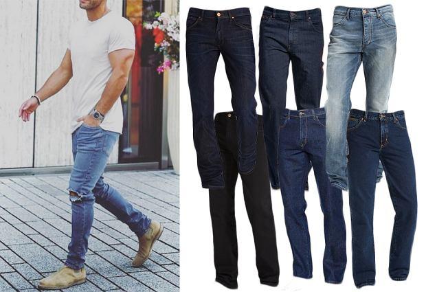 Najmodniejsze modele męskich jeansów